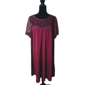 ASOS Curve Lace Top Dress